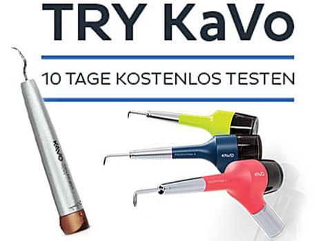 KaVo Instrumente vor dem Kauf testen.